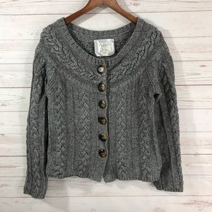 Old Navy Chunky Knit Cardigan Sweater Lg